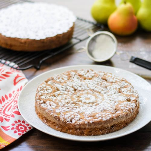 Pear Almond Cake | Magnolia Days