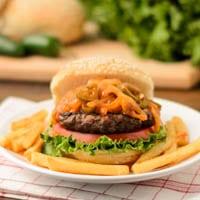 Volcano Buffalo Burgers