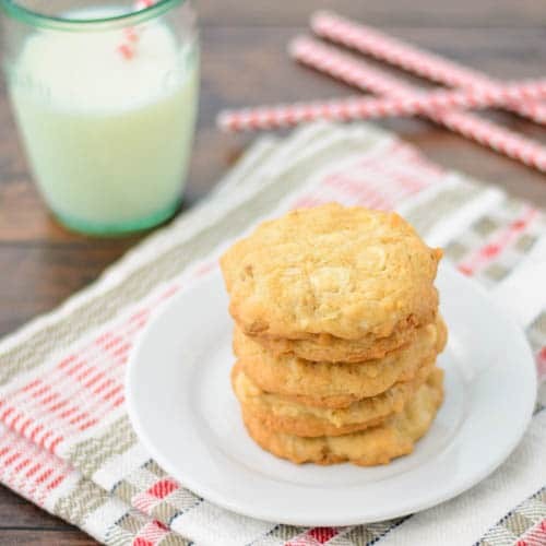 White Chocolate Chip Oat Cookies   Magnolia Days