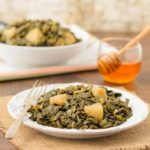 Braised Fall Greens With Apples | Magnolia Days