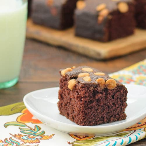 Chocolate Peanut Butter Snack Cake   Magnolia Days