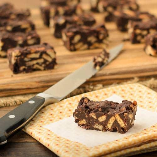 Chunky Dark Chocolate Bars | Magnolia Days