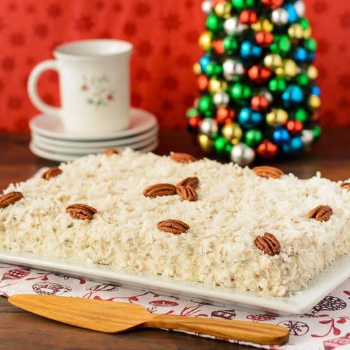Coconut Spice Cake | Magnolia Days