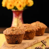 Golden Morning Glory Muffins