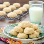 Sesame Tahini Cookies | Magnolia Days
