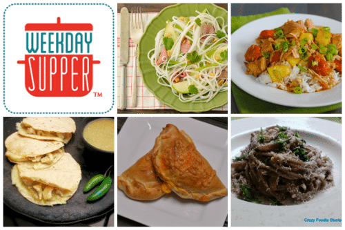 Weekday Supper Collage Week of 11-25-13