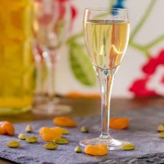 Apricardamom – Homemade Apricot Cardamom Liqueur
