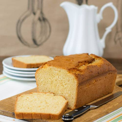 Lemongrass Coconut Quick Bread | Magnolia Days