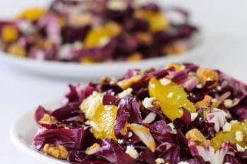 Radicchio and Orange Salad | Magnolia Days