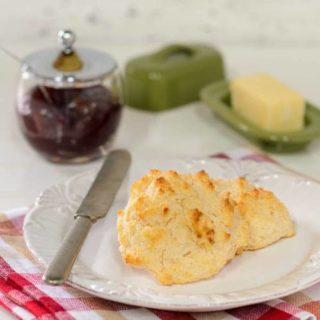 Sour Cream Drop Biscuits   Magnolia Days