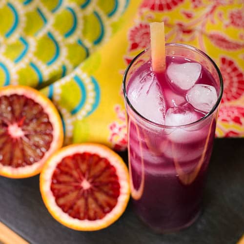 Blood Orange Pineapple Rum Cocktail | Magnolia Days