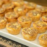 Blue Cheese Walnut Tarts