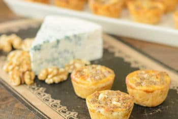 Blue Cheese Walnut Tarts | Magnolia Days