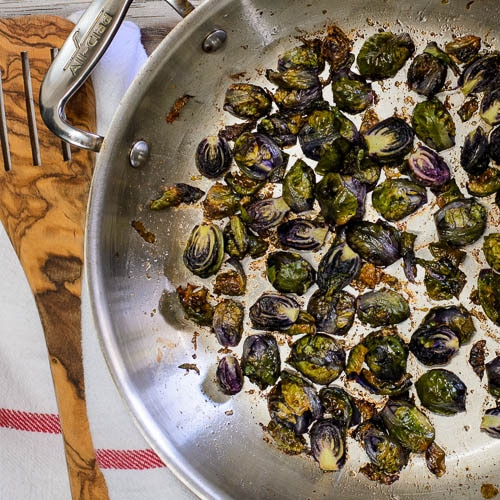 Brown Butter Lemon Roasted Brussels Sprouts   Magnolia Days