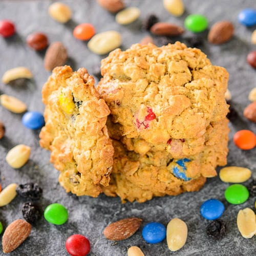 Oatmeal Peanut Butter Trail Mix Cookies | Magnolia Days