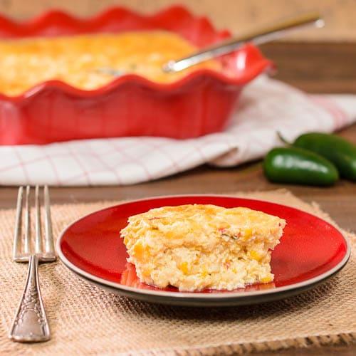 Spicy Corn Casserole | Magnolia Days