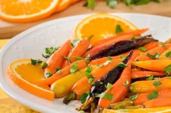 Roasted Baby Carrots with Madeira Orange Glaze | Magnolia Days