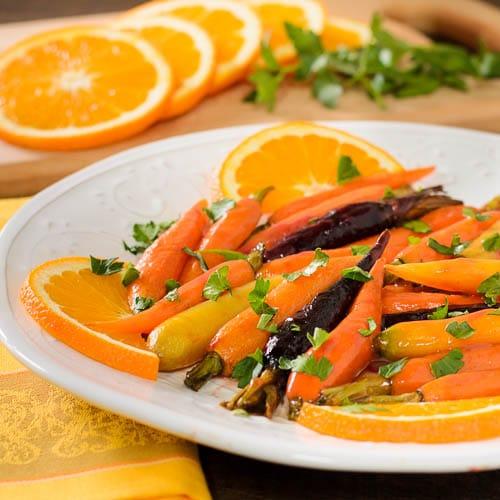 Roasted Baby Carrots with Madeira Orange Glaze   Magnolia Days