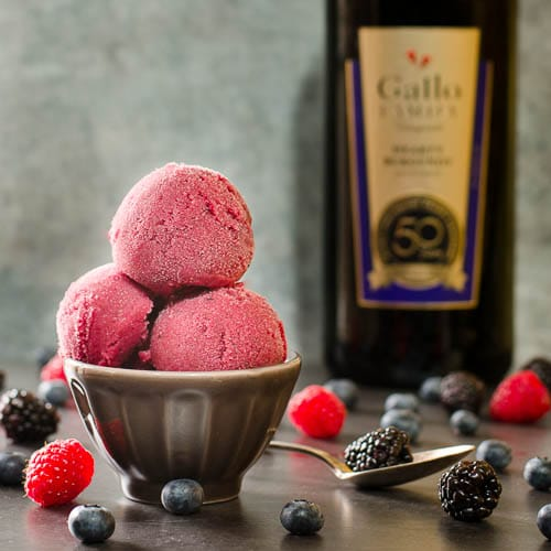 Berry Burgundy Sorbet | Magnolia Days