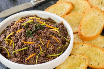 Citrus Herb Olive Tapenade | Magnolia Days