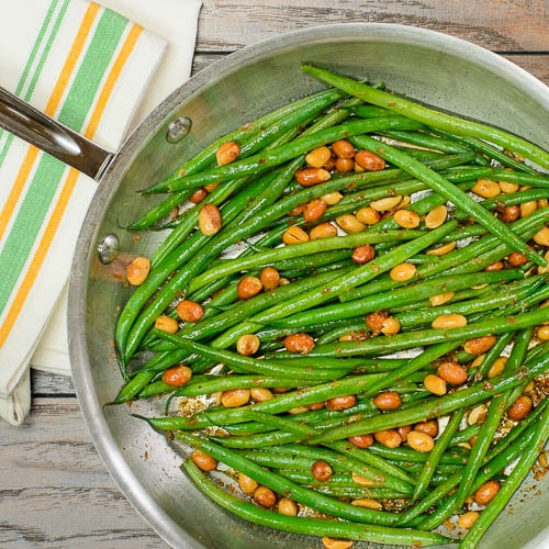 Creole Green Beans with Peanuts | Magnolia Days