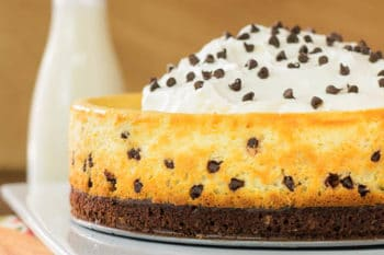 Brownie Chocolate Chip Cheesecake for #SundaySupper