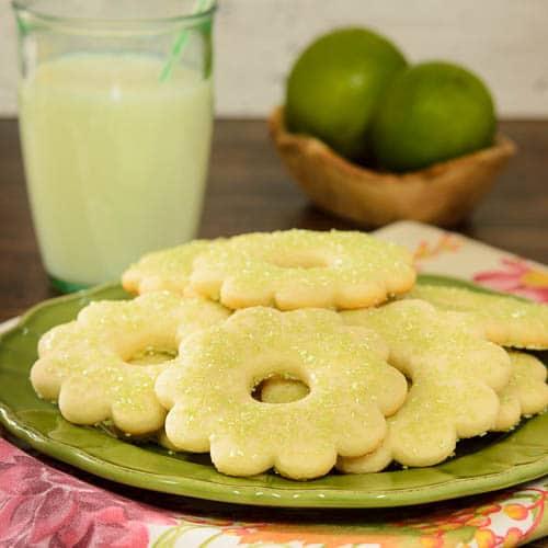 Lime Sugar Cookies | Magnolia Days