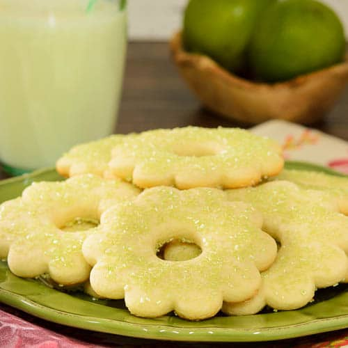 Lime Sugar Cookies | Magnolia Days