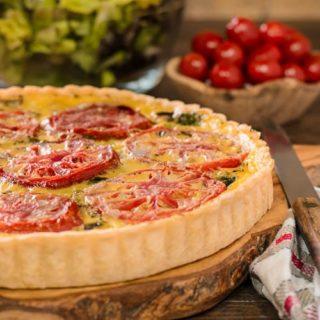 Mediterranean Tomato Tart for #SundaySupper