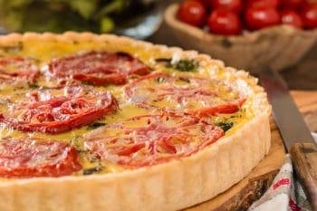 Mediterranean Tomato Tart | Magnolia Days