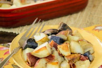 Roasted Potatoes with Onion and Bacon | Magnolia Days