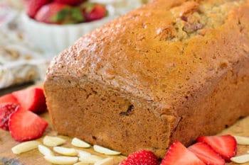 Strawberry Almond Quick Bread | Magnolia Days