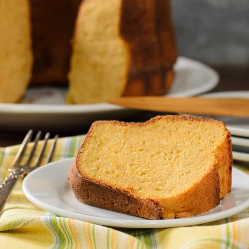 Sweet Potato Pound Cake | Magnolia Days