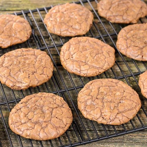 Chocolate Pecan Bourbon Cookies   Magnolia Days