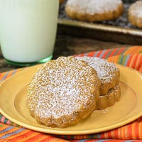 Cinnamon and Piloncillo Cookies