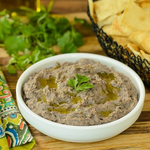 Cuban Black Bean Hummus | Magnolia Days