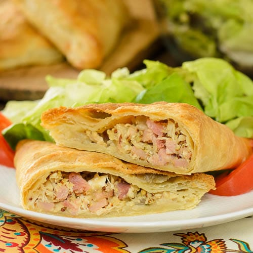 Ham, Turkey and Cheddar Turnovers | Magnolia Days
