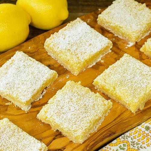 Lemon Coconut Bars | Magnolia Days