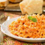 Pasta with Tomato Cream Sauce | Magnolia Days