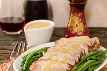 Pork Roast with Peach Moscato Sauce | Magnolia Days