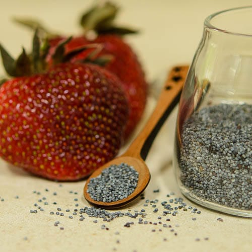 Strawberries and Poppy Seeds   Magnolia Days