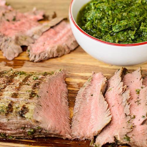 Chimichurri Skirt Steak | Magnolia Days