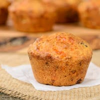 Sausage, Onion, and Cheese Muffins