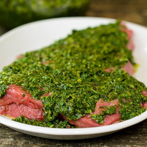 Skirt Steak with Chimichurri Marinade | Magnolia Days