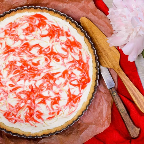Strawberry Cream Cheese Tart | Magnolia Days
