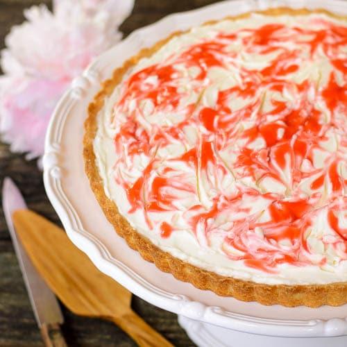 Strawberry Cream Cheese Tart   Magnolia Days