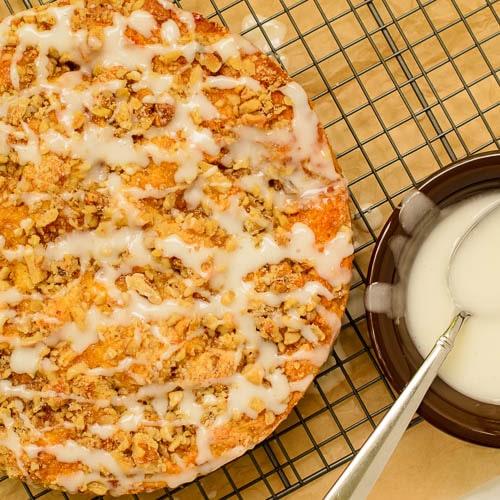 Apricot Buttermilk Coffee Cake   Magnolia Days