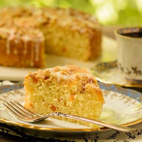 Apricot Buttermilk Coffee Cake | Magnolia Days