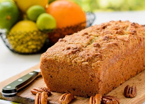 Citrus Pecan Quick Bread for #TwelveLoaves