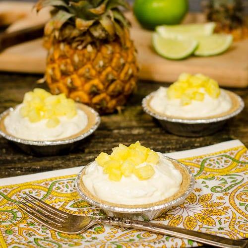 Creamy Pineapple Tartlets